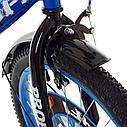 Велосипед детский PROF1 20д. XD2044 Original boy,сине-черный, фото 3