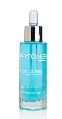 Увлажняющий гель, придающий сияние коже Phytomer HydraContinue Phytomer 12H Moisturizing Flash Gel 30ml