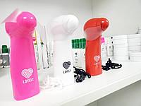 Мини-вентилятор, розовый