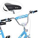 Велосипед детский PROF1 18д. L1884 Flower, голубой, фото 2