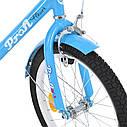 Велосипед детский PROF1 18д. L1884 Flower, голубой, фото 3