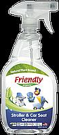 Органическое очищающее средство-концентрат для колясок, стульчиков для кормления Friendly organic 650 мл