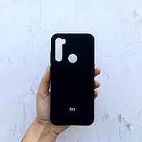 Чехол на Xiaomi Redmi Note 8T Silicone Case черный силиконовый / для сяоми редми нот 8Т, ксяоми ноут ксиоми Т