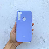Чехол на Xiaomi Redmi Note 8T Silicone Case фиалковый силиконовый / для сяоми редми нот 8Т, ксяоми ноут ксиоми