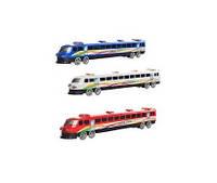 Поезд 3399 (192шт) инер-й, на колесиках, 3 цвета, в кульке, 36-6-4см(3399)