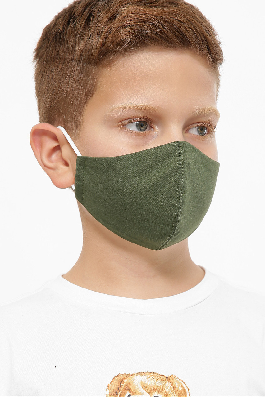 Тканинна захисна дитяча маска для обличчя