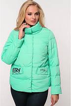 Женская демисезонная  куртка Рикель,58-64р, фото 3