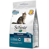 Schesir (Шезир) Cat Hairball Chicken сухой корм для выведения шерсти у кошек с курицей