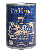 PetKind Single Animal Protein Lamb Tripe Formula влажный корм с ягненком и овечьим рубцом