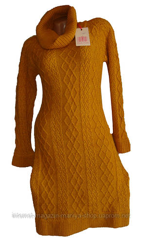 Женское платье вязка