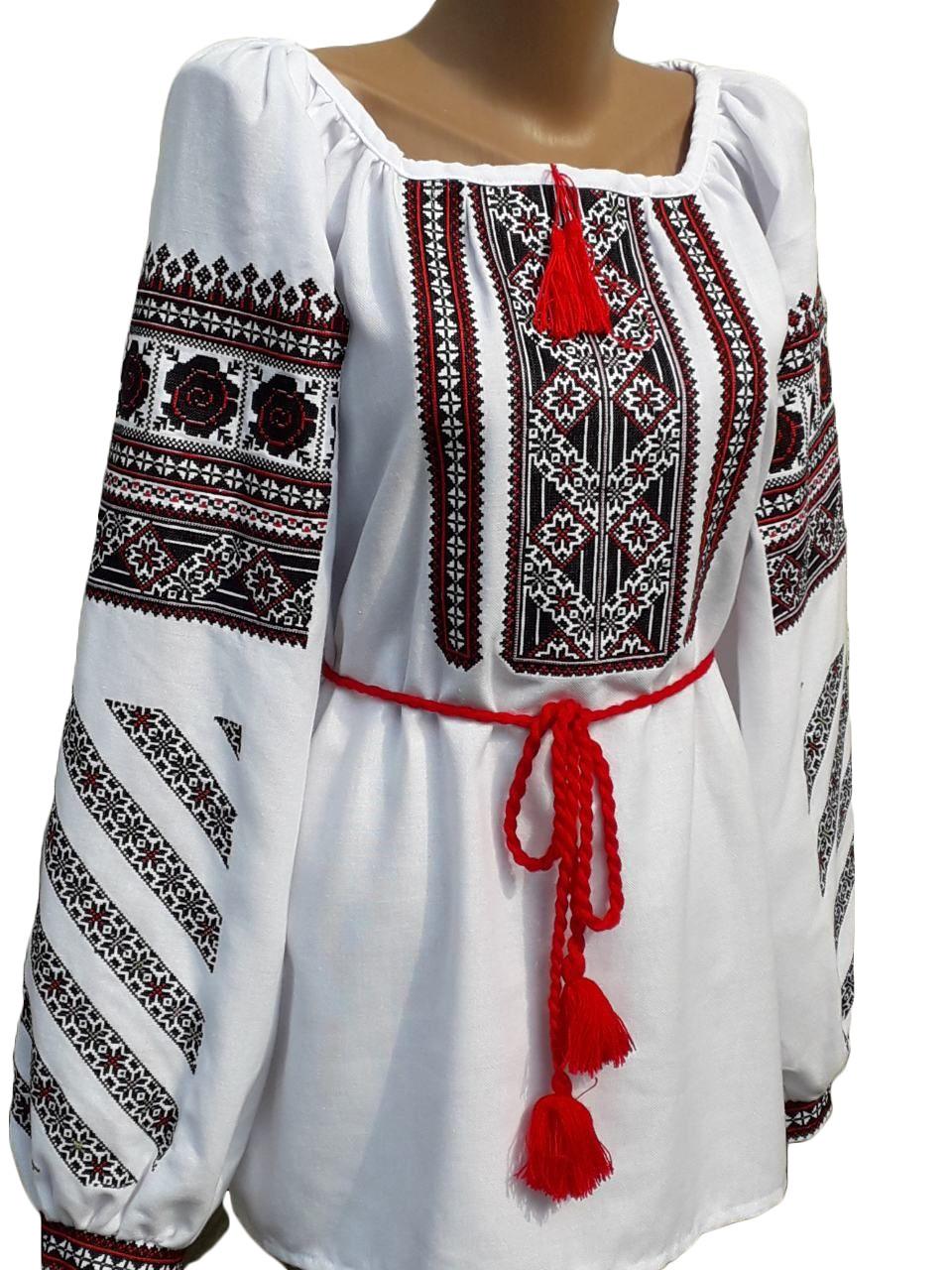 """Женская вышитая рубашка """"Саманта"""" BN-0006"""