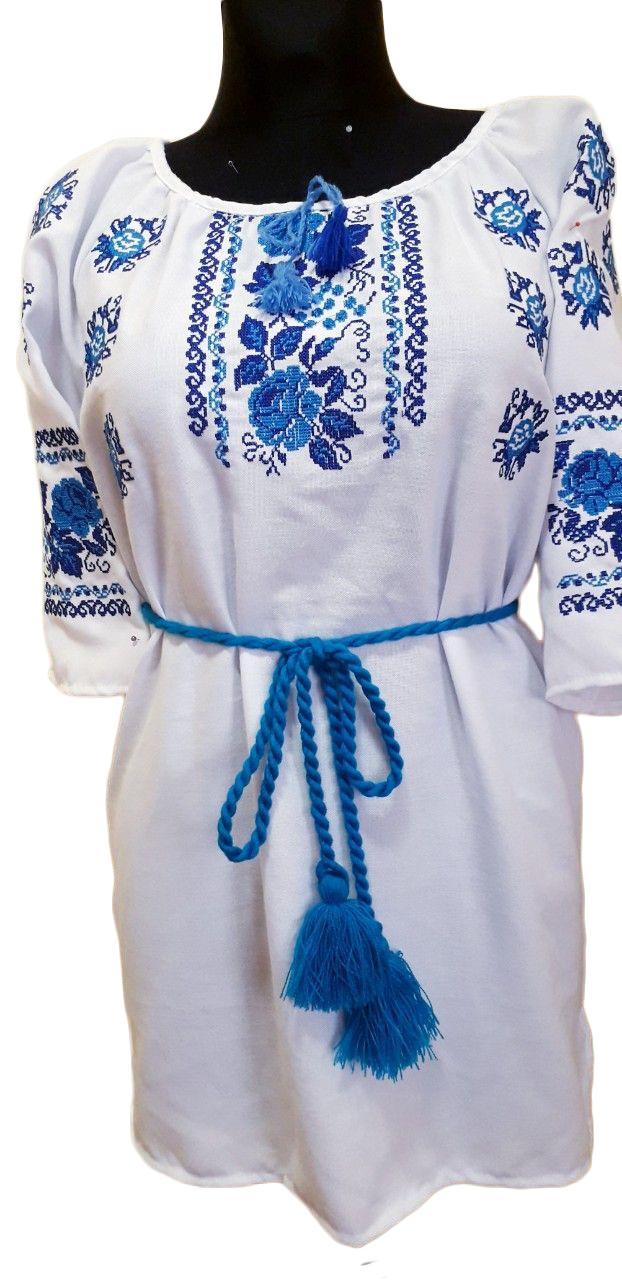 """Женская вышитая рубашка """"Офелия"""" BN-0008"""