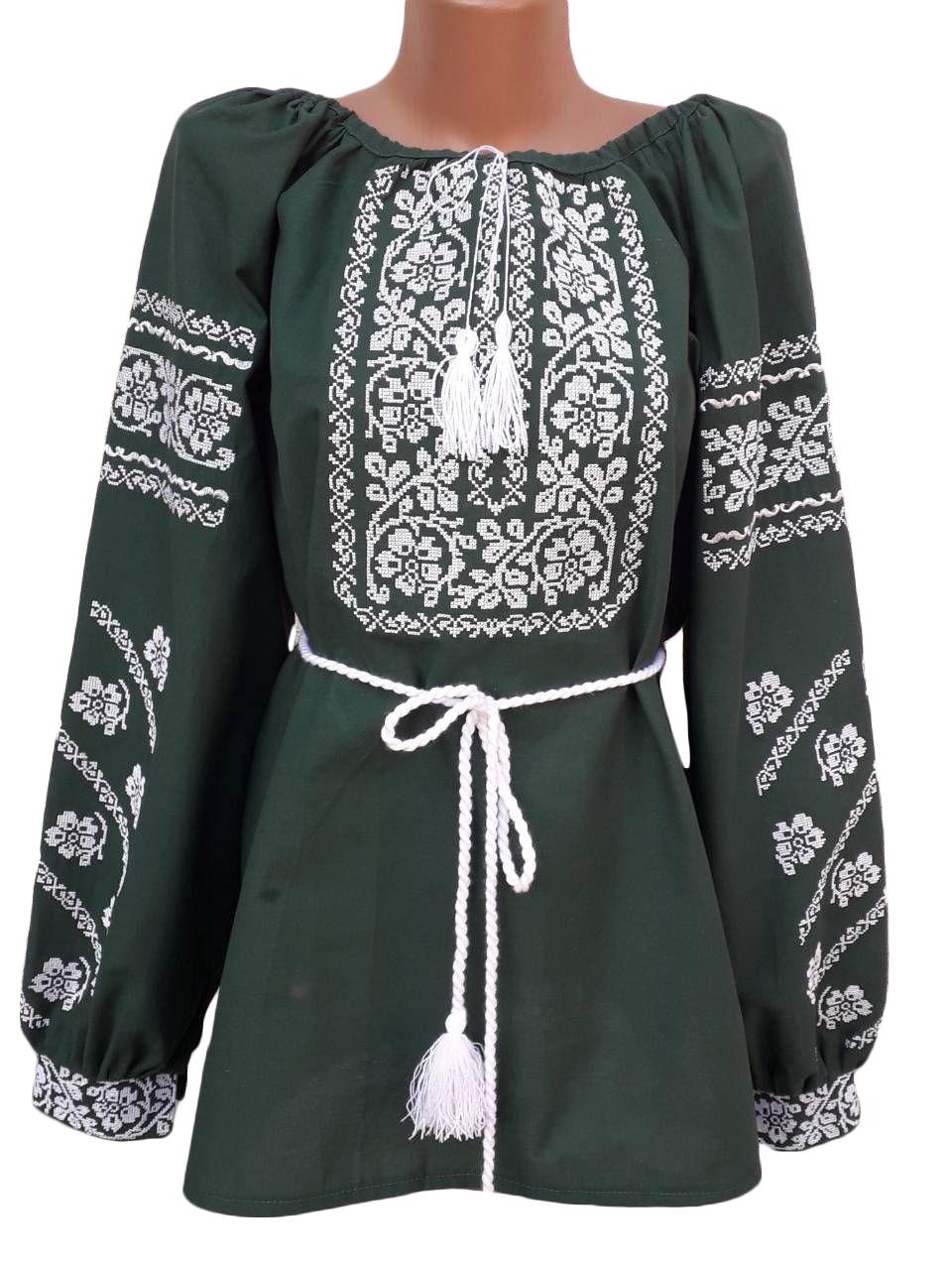 """Женская вышитая рубашка """"Николь"""" BN-0010"""