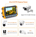 Монитор тестер  видеонаблюдения  8MP AHD 8MP TVI 8MP CVI CVBS 5-дюймовый -все виды  камер !!!, фото 4
