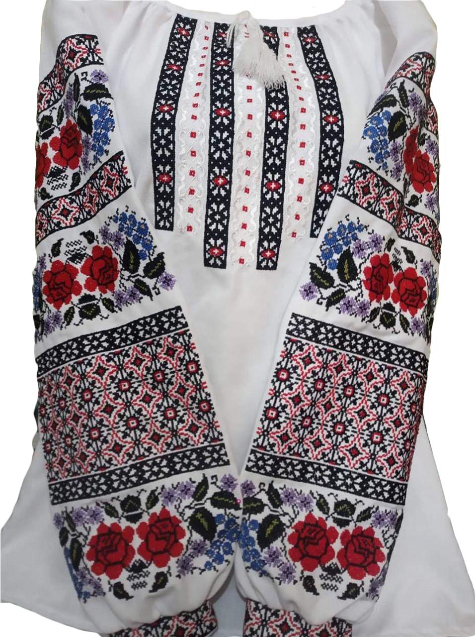 """Женская вышитая рубашка """"Лесли"""" BN-0017"""