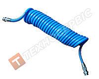 Шланг причепа спіральний синій 4527130020 (М22х1.5) 7м (РЕ) поліетилен (пр-під Туреччина)
