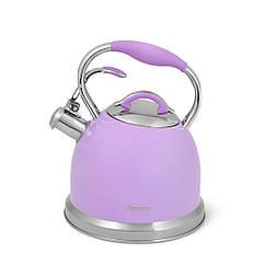 """Чайник для кипячения воды """"Felicity"""" 22.5х20х25см/2600мл из нержавеющей стали Fissman"""