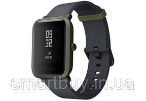 Смарт часы Xiaomi Amazfit Bip Kokoda Green (хаки) A1608 (12 месяцев гарантии) + сменный ремешо