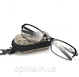 Складні окуляри (+1.0) у футлярі, фото 2