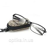 Складные очки  (+2.0) в футляре, фото 2