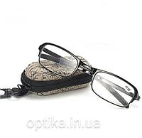 Складные очки  (+4.0) в футляре, фото 1