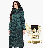 Воздуховик Braggart Angel's Fluff 31016   Теплая женская куртка изумруд, фото 1