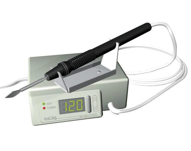 Электрошпатель цифровой Khors Digital М(модернизированный), нагреватель 2.5мм + 6шт насадки