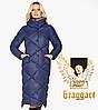 Воздуховик Braggart Angel's Fluff 31063 | Куртка женская зимняя синяя