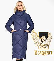 Воздуховик Braggart Angel's Fluff 31063 | Куртка женская зимняя синяя, фото 1