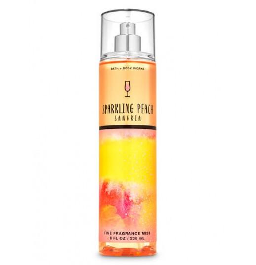 Мист для тела и волос Sparkling peach sangria Bath and Body Works