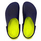 Кроксы женские Crocs LiteRide™ Clog синие 37 р., фото 5