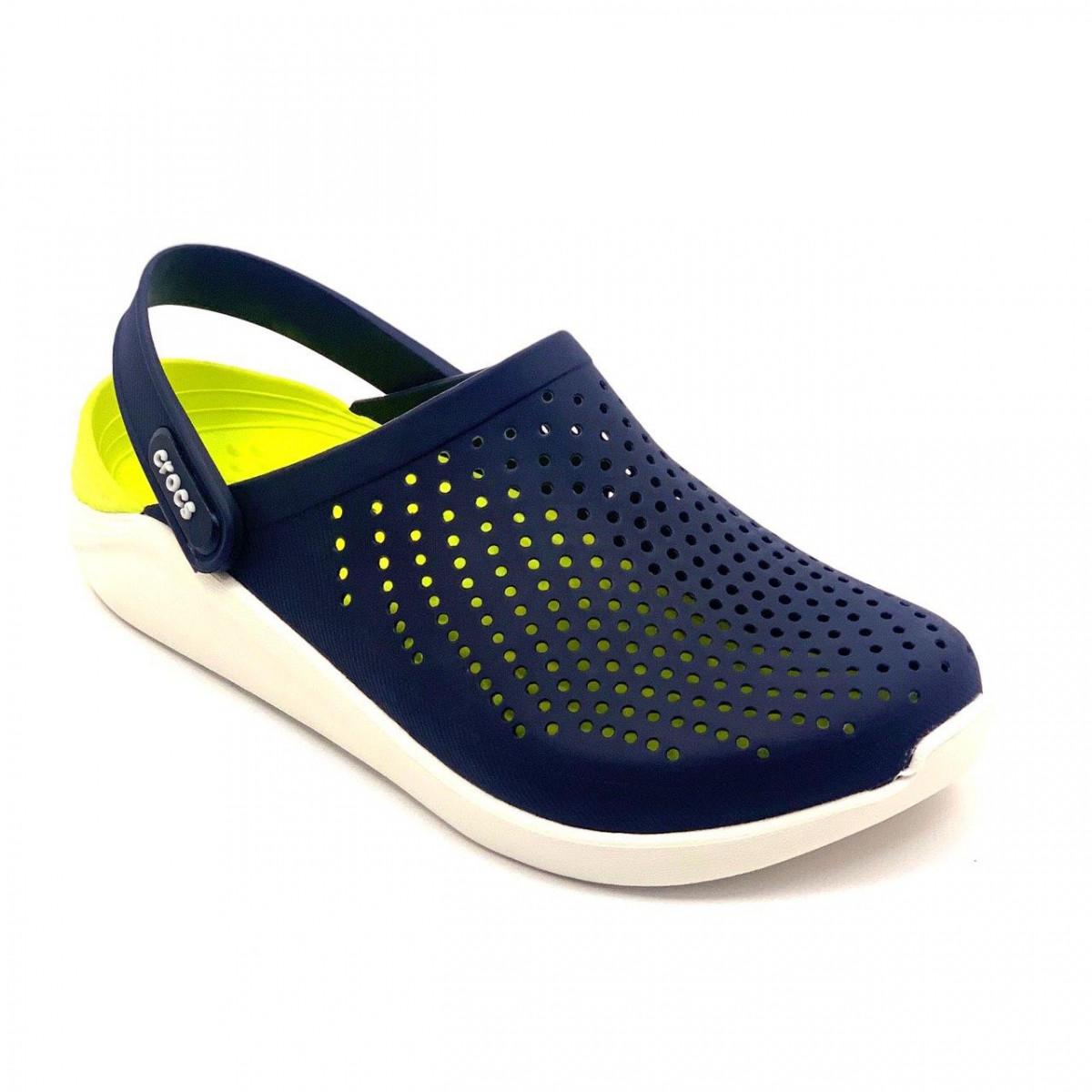 Кроксы женские Crocs LiteRide™ Clog синие 40-41 р.
