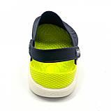 Кроксы женские Crocs LiteRide™ Clog синие 40-41 р., фото 3
