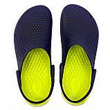 Кроксы женские Crocs LiteRide™ Clog синие 40-41 р., фото 5