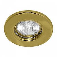 Врезной светильник Feron DL10 (золото)