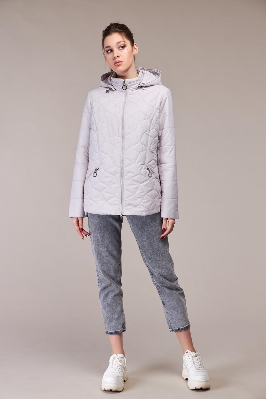 Модна коротка куртка демісезонна Великі розміри осіння 48,50,52,54,56,58,60