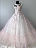 Ніжне плаття рожевого кольору, фото 1