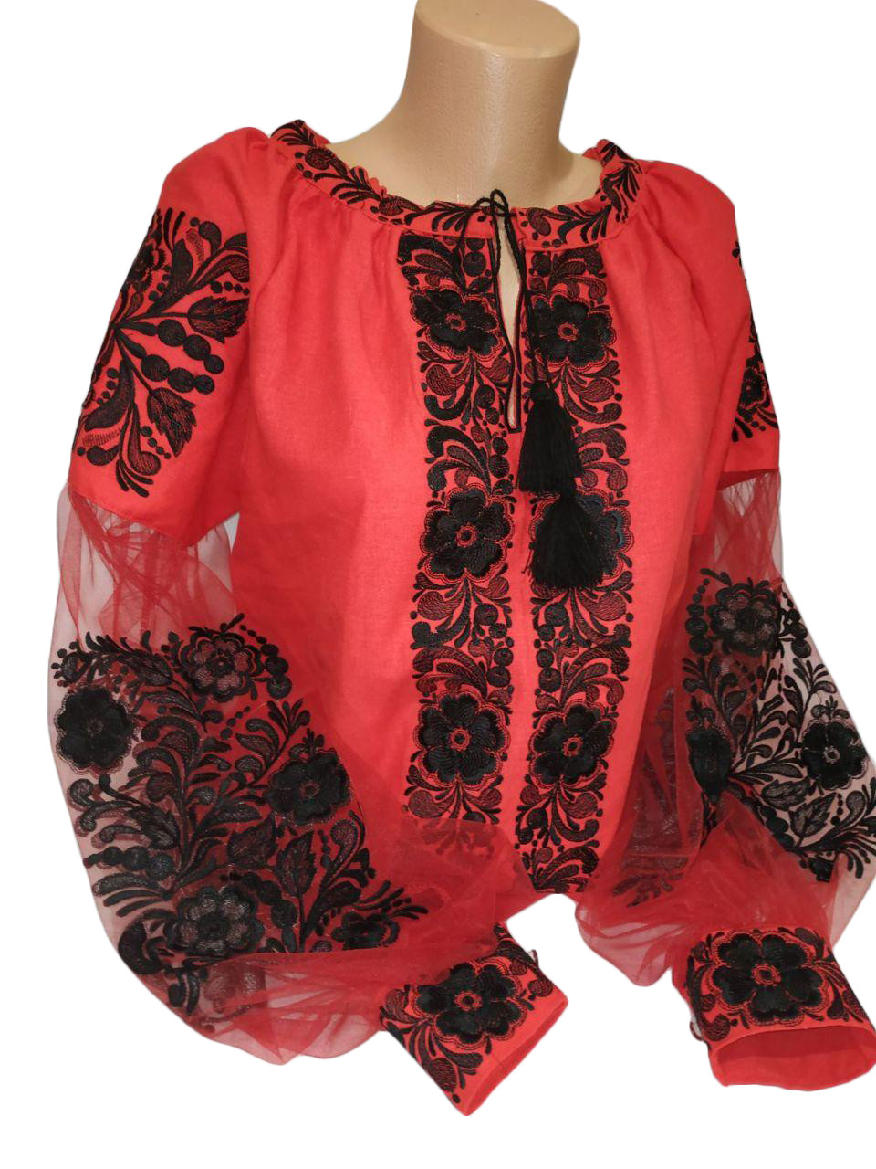 """Женская вышитая рубашка """"Дорис"""" BT-0001"""