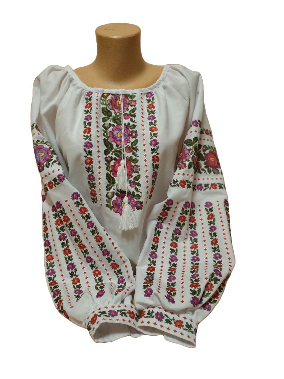 """Женская вышитая рубашка """"Карлин"""" BT-0005"""