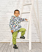 Оптом детские куртки (5 шт)  на мальчика демисезон, 122-146