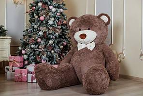 Величезний м'який ведмедик Yarokuz Вільям 250 см Шоколадний (YK0076-william250-ch) Капучіно