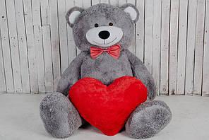 Великий плюшевий ведмедик Yarokuz Річард 200 см Капучино (YK0066-richard200-ca) 8200, Сірий