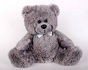 Плюшевий ведмедик Yarokuz Рональд 35 см Сірий (YK0084-ronald35-gr)