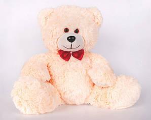 Плюшевий ведмедик Yarokuz Мартін 50 см Білий (YK0085-martin50-wh) Персиковий