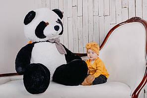 Ведмедик плюшевий Yarokuz Теодор 65 см Капучино (YK0016-teodor65-ca) 4500, 165, Чорно-білий
