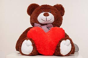 Плюшевий ведмідь Yarokuz Джиммі 90 см Капучино (YK0026-jimmy90-ca) Шоколад