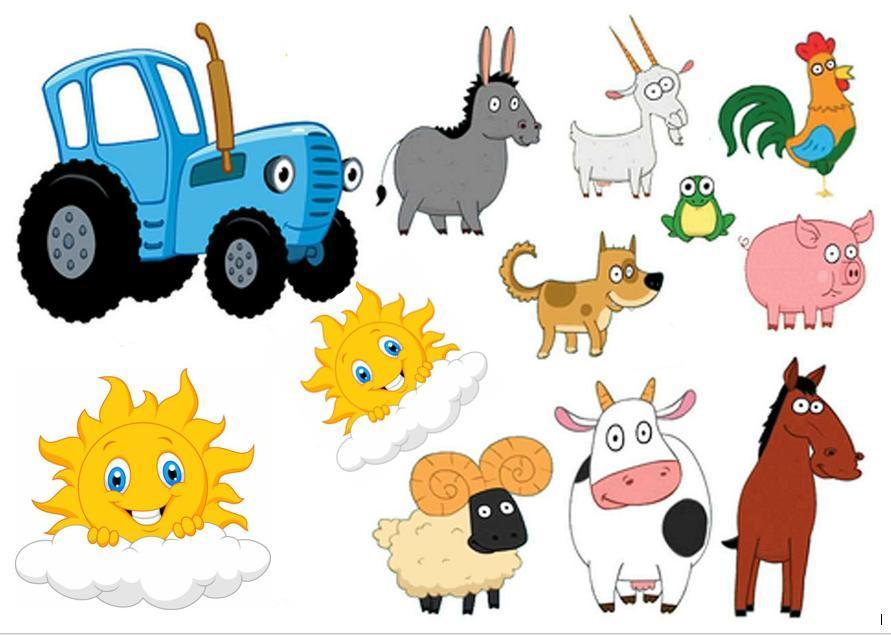 Вафельная картинка Синий трактор | Съедобные картинки Синий трактор | Синий трактор картинки разные Формат А4