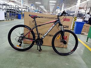 Двухколесный спортивный велосипед 29 дюймов 17 рама Crosser Thomas черно-красный