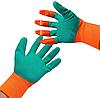 Садовые перчатки грабли с когтями Garden Gloves 2 в 1, фото 4