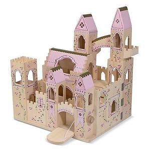 Багатоповерховий дерев'яний ляльковий будиночок Melіssa&Doug (MD4570) 34.8 х 42.4 х 48.8 см, 350
